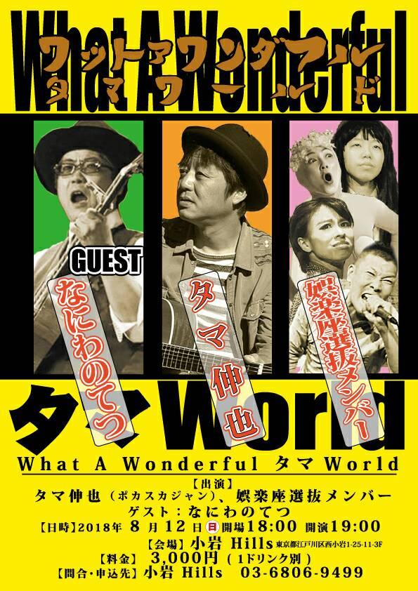 【娯楽座選抜メンバー出演】What A Wonderful タマWorld