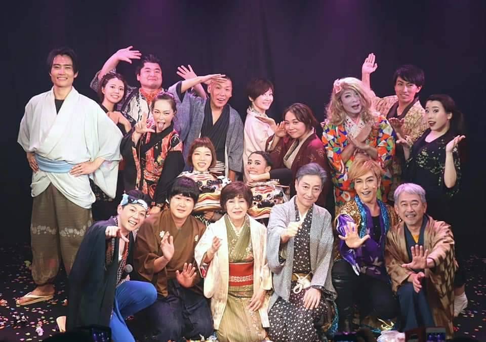 《娯楽座本公演》「競艶雪之丞変化 ザ・グレイテスト歌舞伎女形(ショーガールマン) 」
